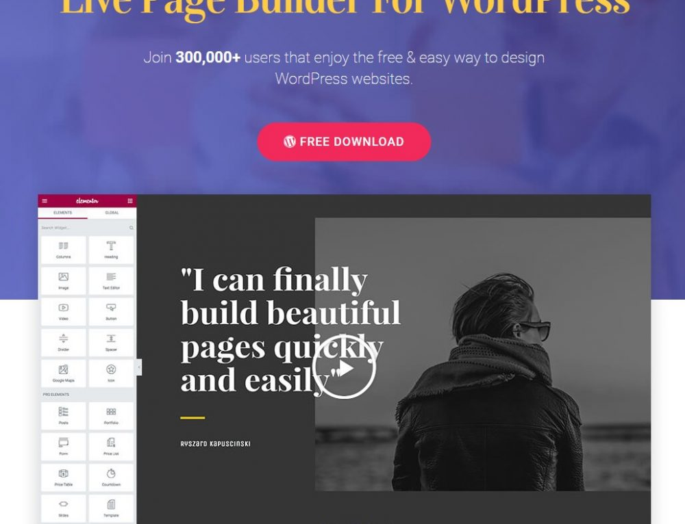 Elementor – Page Builder for WordPress Review