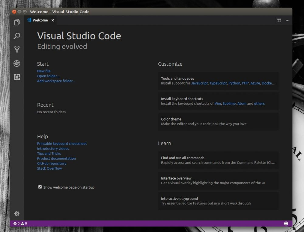 How To Run Visual Studio Code On Ubuntu