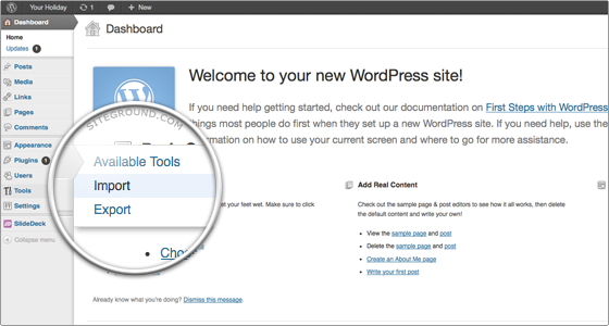 How to Transfer WordPress - FastWebHost Tutorials
